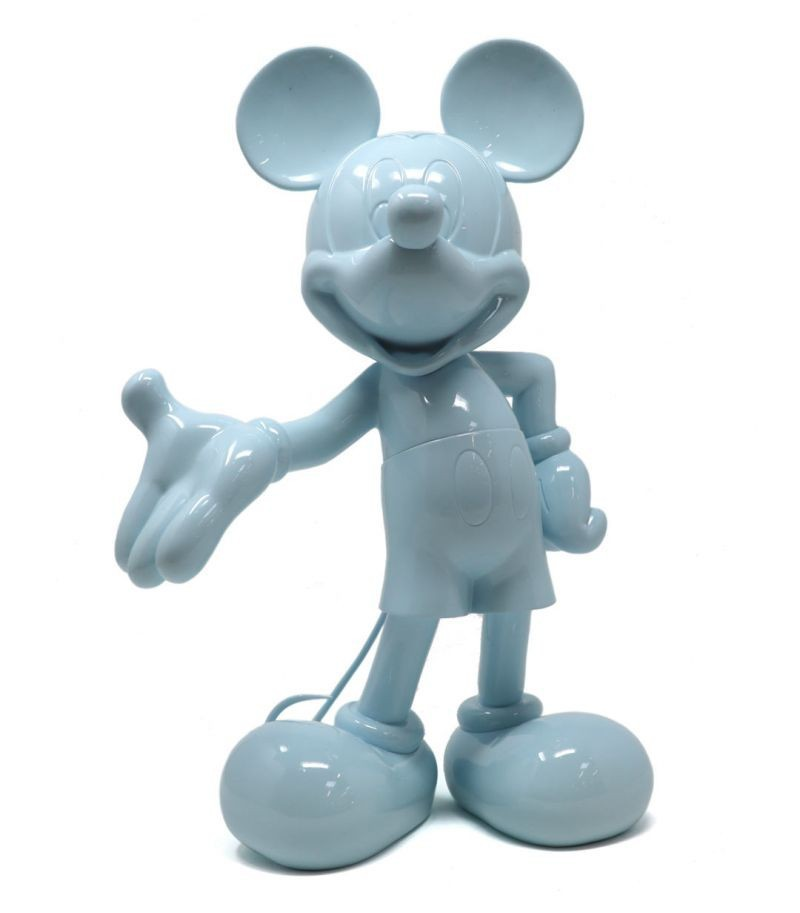 Mickey Welcome | azul pastel