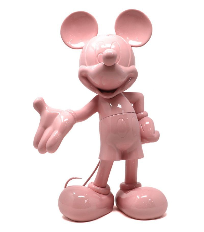 Mickey Welcome | rosa pastel
