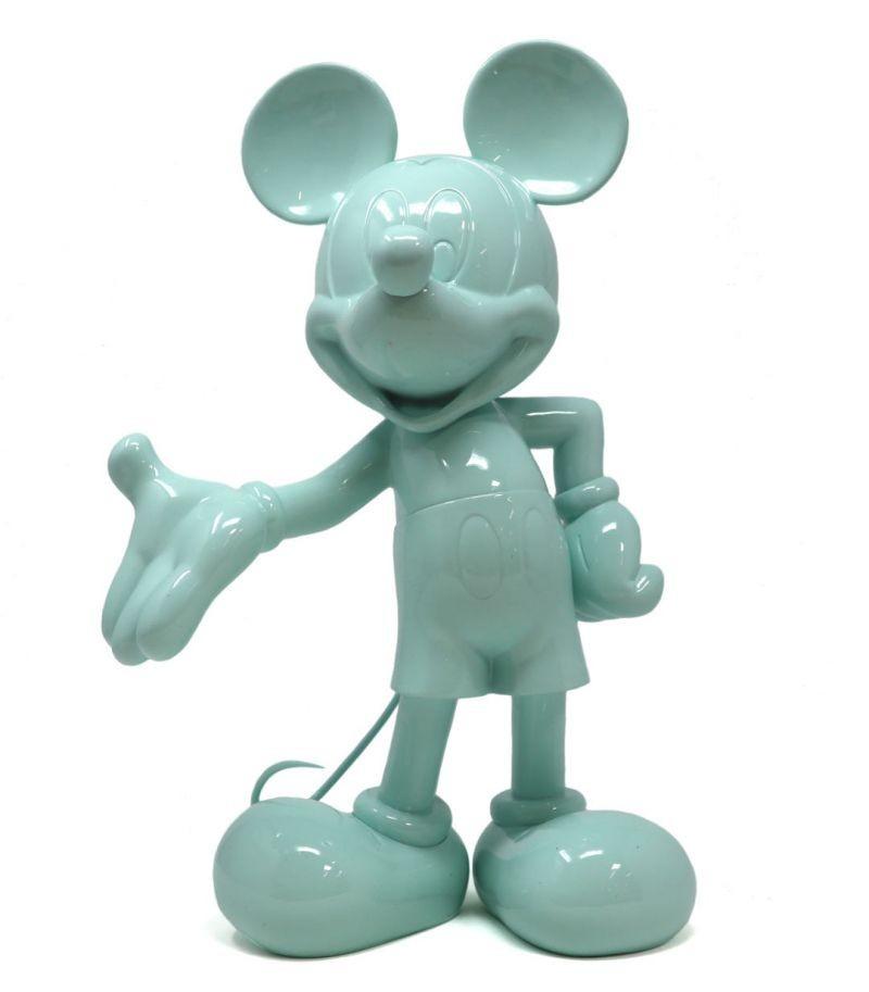 Mickey Welcome   verde pastel