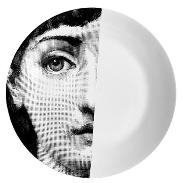 Prato de Parede T e V 031 | branco e preto