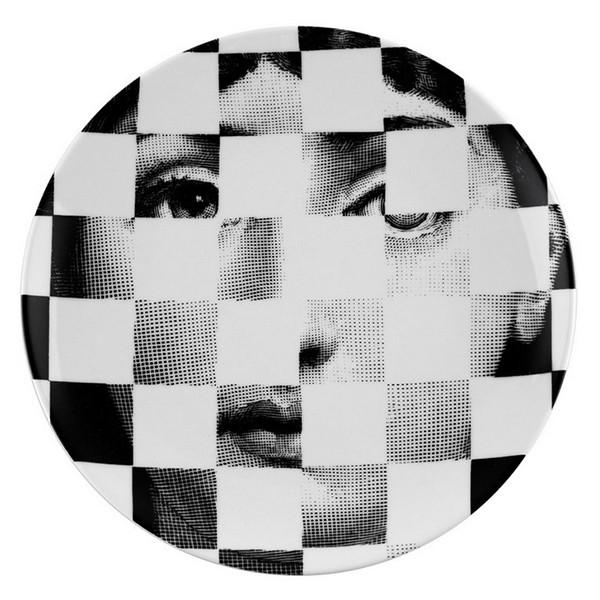 Prato De Parede T E V 045 | branco e preto