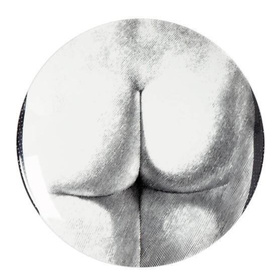 Prato de Parede T e V 306 |  branco e preto