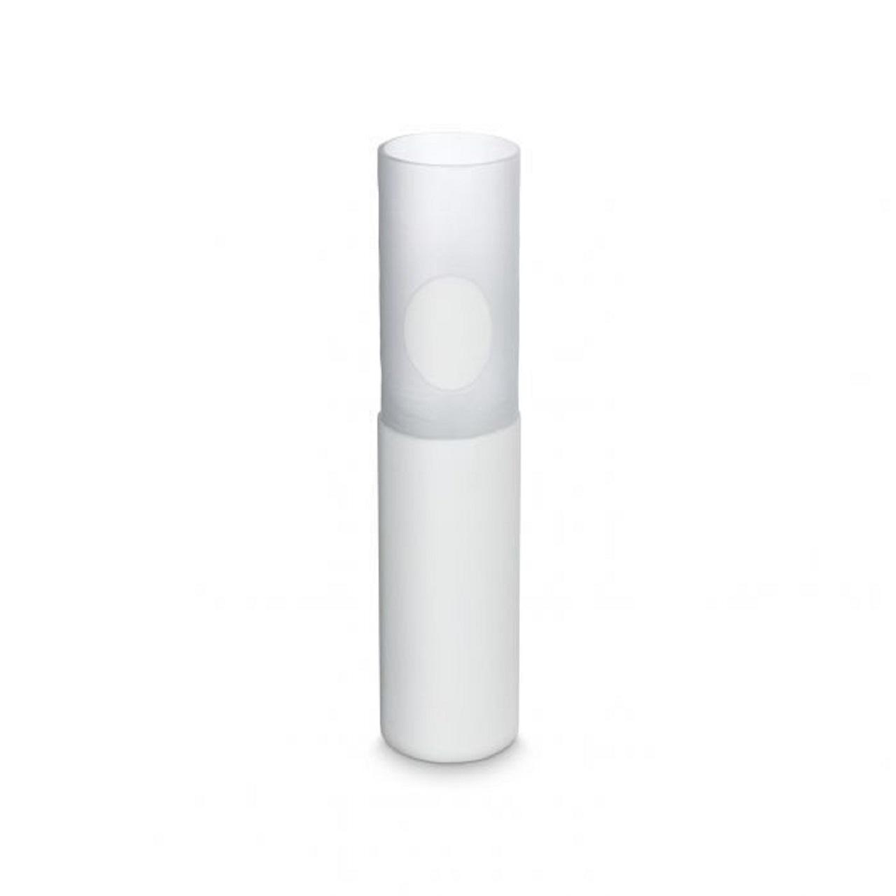 Vaso Alto Esculpido | branco