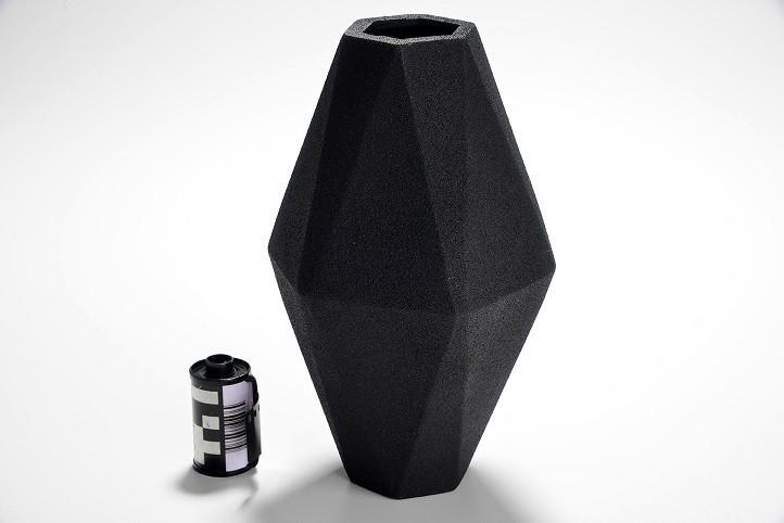 Vaso Aluminio Navette P | preto