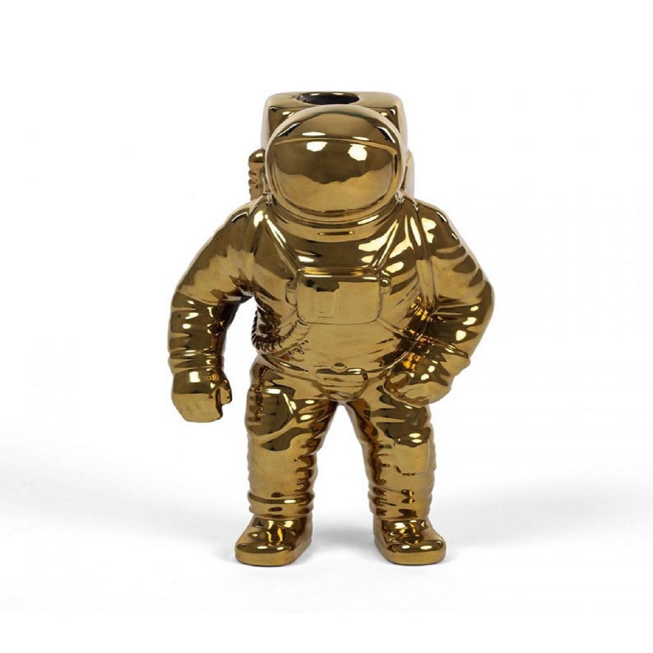Vaso Astronauta | dourado