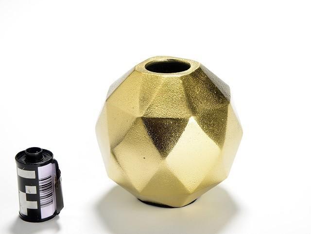 Vaso Flor Pequeno    dourado