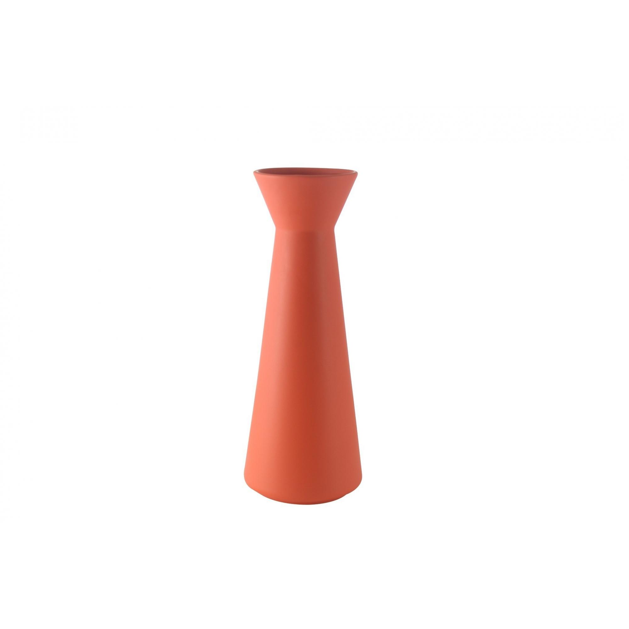 Vaso Ondo Alto   orange