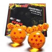 Conjunto de 7 Esferas do Dragão - Dragon Ball Z