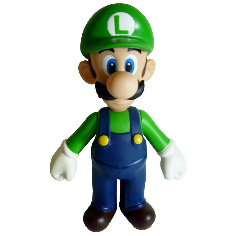 Action Figure Luigi  - Super Mario
