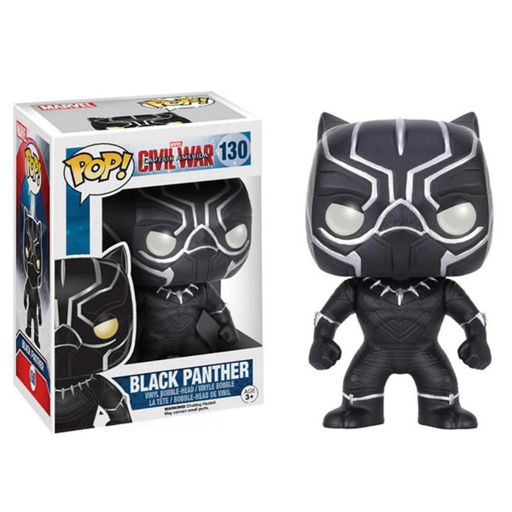 Funko Pop! - Black Panther 130 - Pantera Negra - Guerra Civil