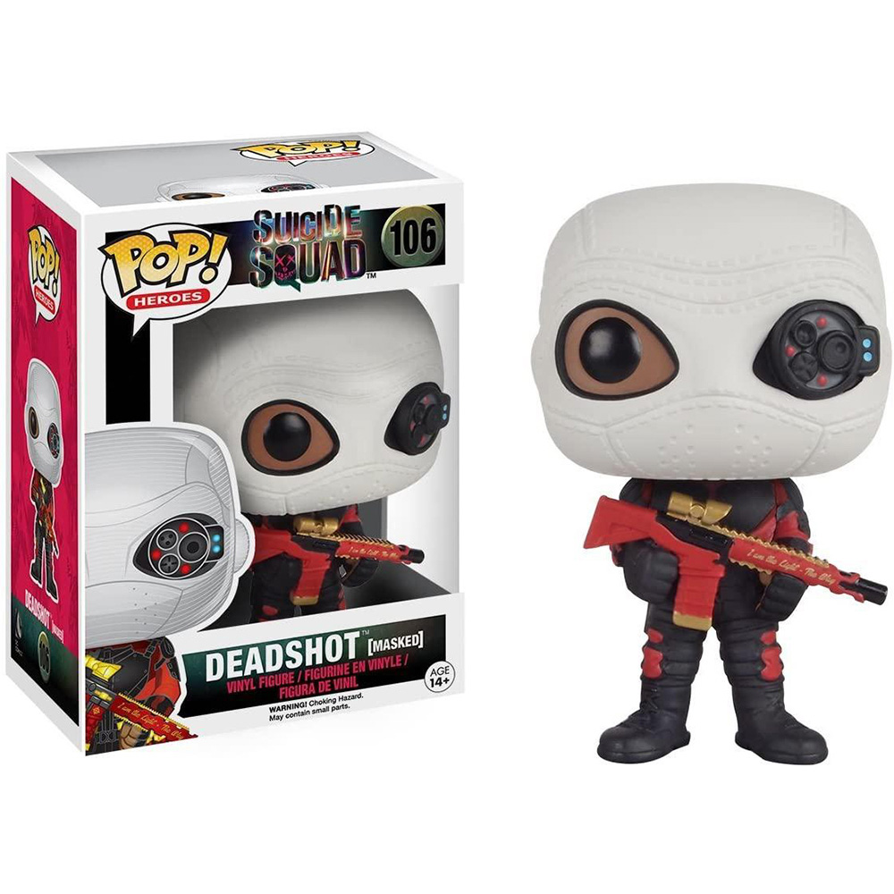 Funko Pop! - Deadshot Masked 106 - Suicide Squad - Esquadrão Suicida