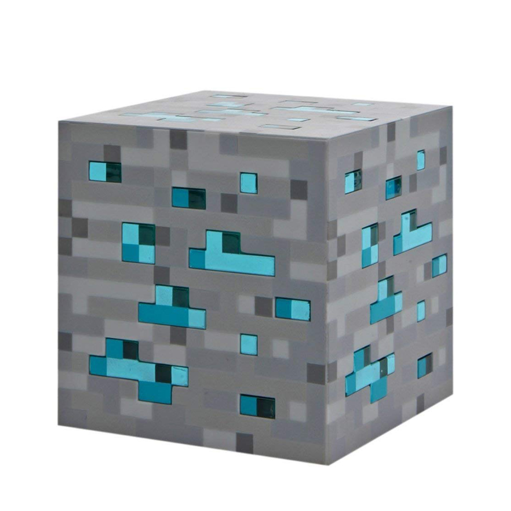 Luminária Diamond -  Minecraft