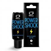 Gel Excitante Unissex Eletrico Neutro Power shock