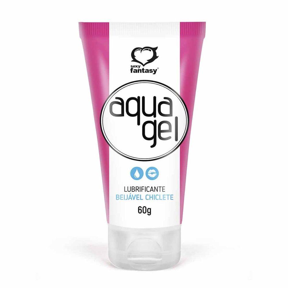 Gél Lubrificante Aqua Gél Beijável/Neutro