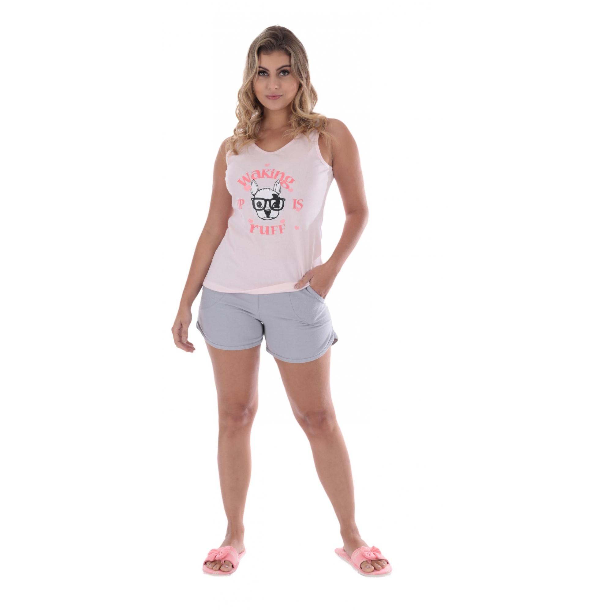 PIJAMA DE VERÃO FEMININO