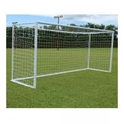 Rede De Futebol De Campo Europeu - Fio 2mm Nylon (Par)