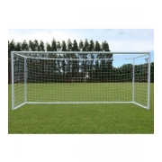 Rede De Futebol De Campo Europeu - Fio 4mm em Seda (Par)