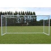 Rede De Futebol Society Europeu 6M - Fio 3mm em Seda (Par)