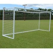 Rede De Futebol Society Europeu 6M - Fio 4mm em Seda (Par)