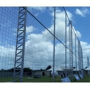 Rede De Proteção Fio 2mm De Polietileno M² (Nylon) Malha Campo Futebol