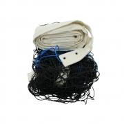 Rede De Vôlei Oficial Em Nylon Fio 2mm Com 3 Faixas Algodão