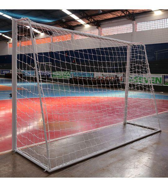 Rede De Futebol De Salão (Futsal) - Fio 3mm em Seda (Par)