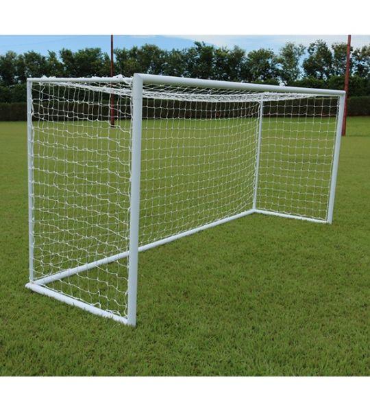 Rede De Futebol Society  Europeu 4M - Fio 3mm em Seda (Par)