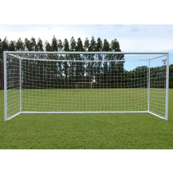 Rede De Futebol Society Europeu 6M - Fio 2mm Nylon (Par)