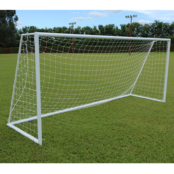 Rede De Futebol Society Standard 6M - Fio 3mm em Seda (Par)