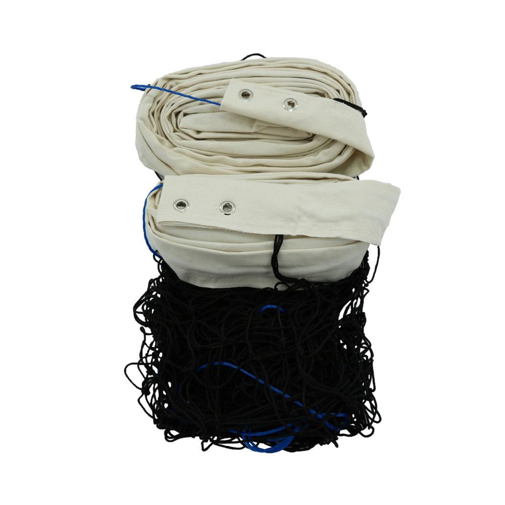 Rede De Vôlei Oficial Polipropileno (Seda) 2 Faixas Algodão