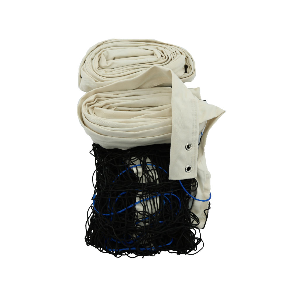 Rede De Vôlei Oficial Polipropileno (Seda) 4 Faixas Algodão