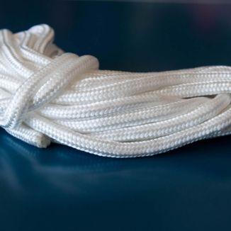 Rolo De Corda Trançada Em Polipropileno No Fio 12mm - 1kg