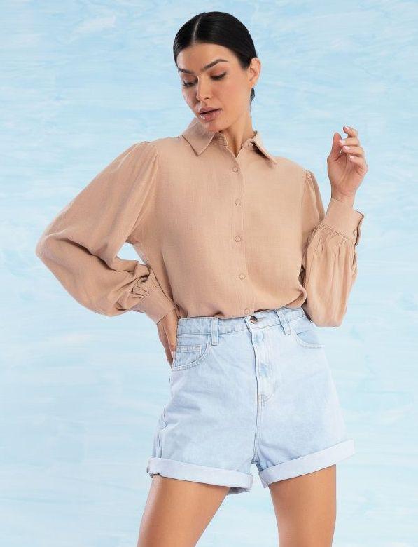 Camisa Feminina Bufante Chloe