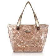 Bolsa de Ombro Transparente Diamantes Jacki Design