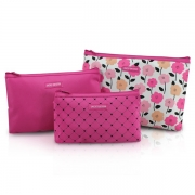 Kit de Necessaire de 3 Peças Pink Lover Jacki Design