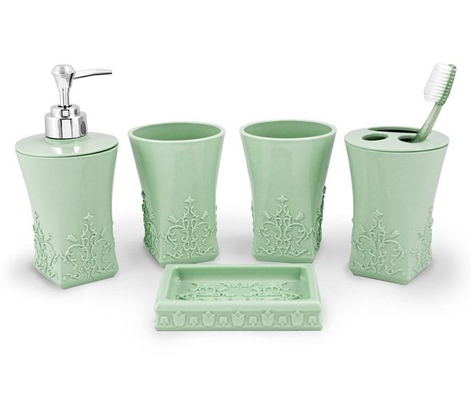 Kit Banheiro com 5 Peças Lifestyle Jacki Design