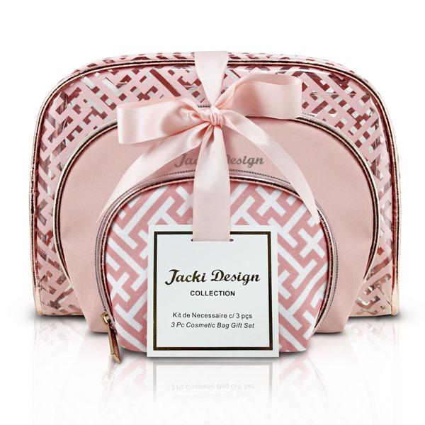 Kit de Necessaire com 3 Peças Diamantes Jacki Design