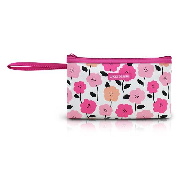 Necessaire com Alça Tamanho Pequeno Pink Lover Jacki Design