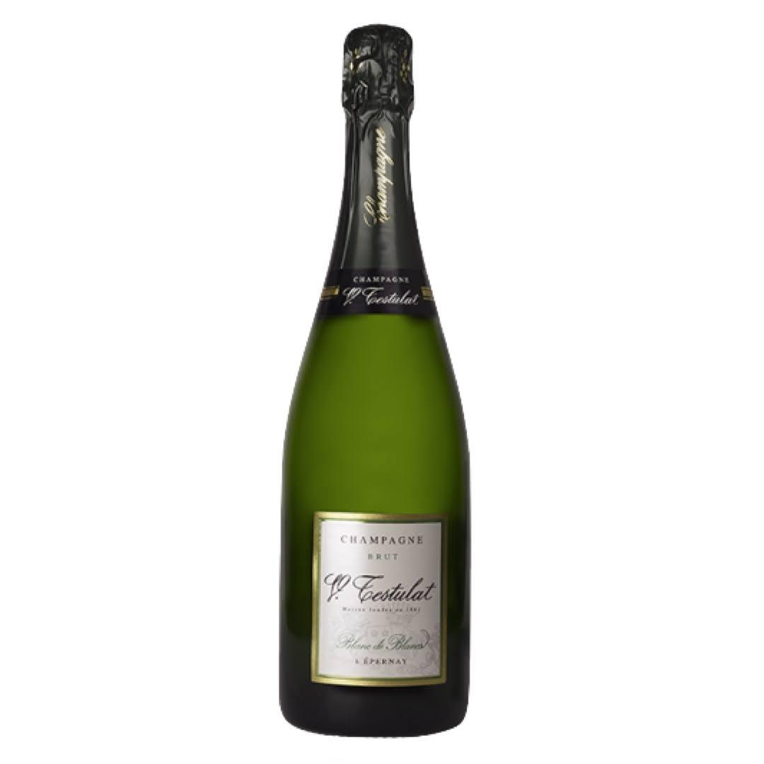 Champagne Testulat Blanc de Blanc