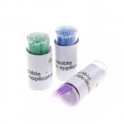 100 Microbrush Para Alongamento E Permanente De Cílios