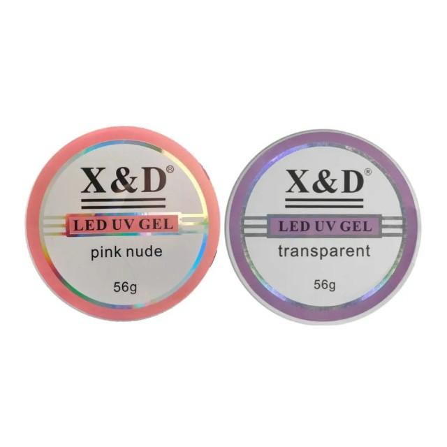 GEL PARA UNHAS LED UV X&D 15g