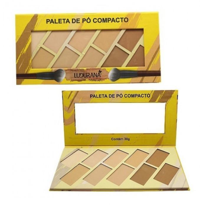 PALETA DE PÓ COMPACTO LUDURANA