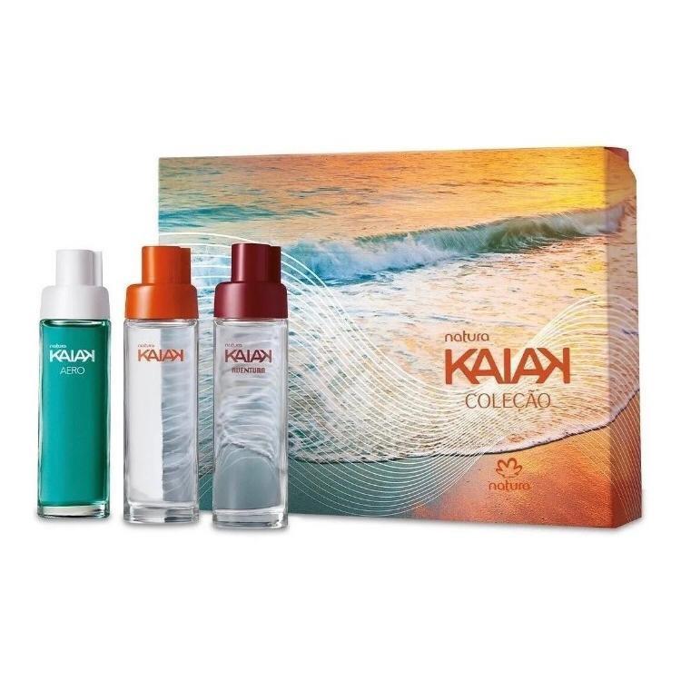 Presente Natura Kaiak Coleção Miniaturas Da Perfumaria