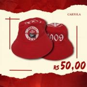 CARTOLA PORTÃO 7 - VERMELHA