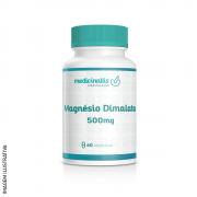 Magnésio Dimalato 500 mg 60cáps