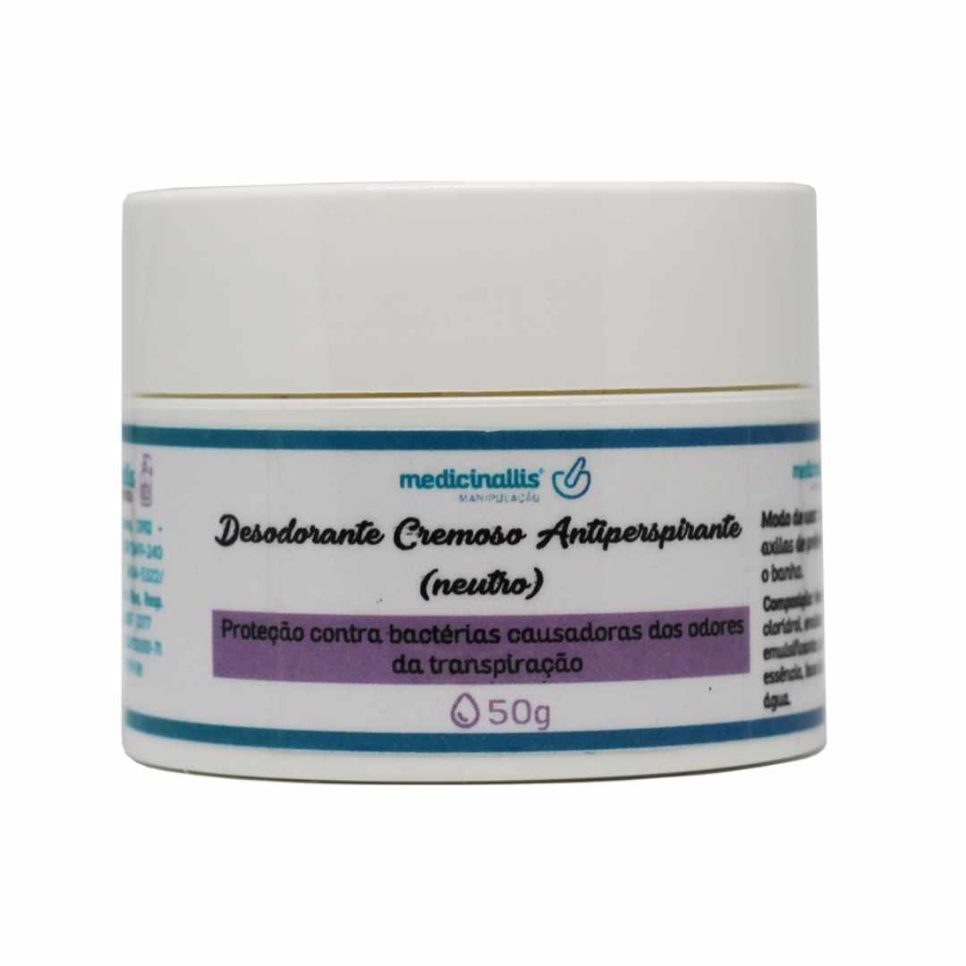 Desodorante Cremoso Antiperspirante