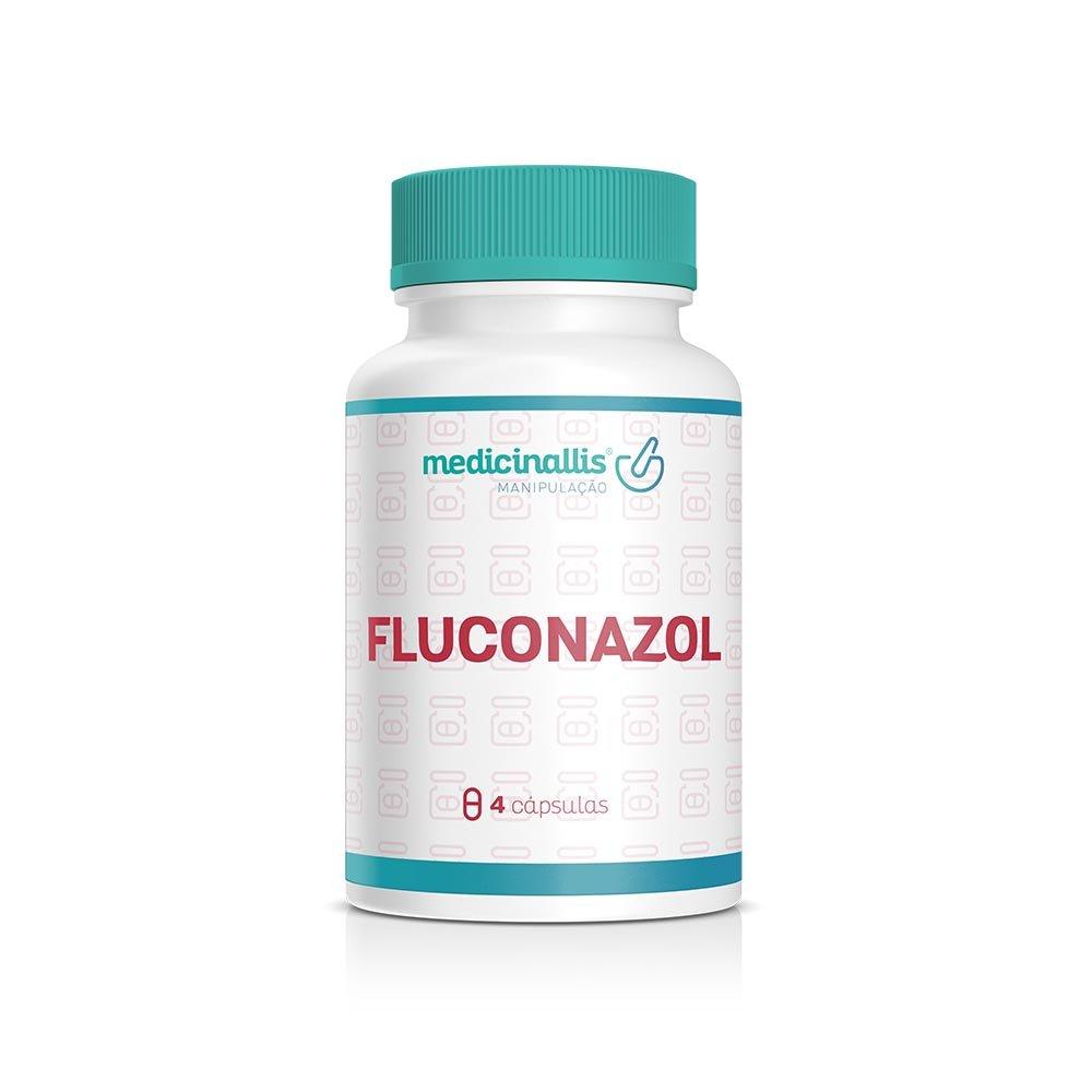 Fluconazol 4 Cápsulas