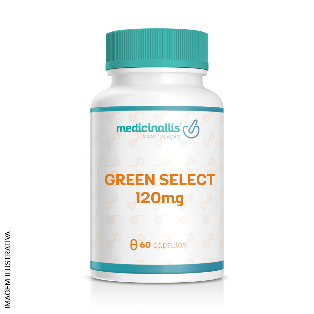 Green Select 120mg 60cáps