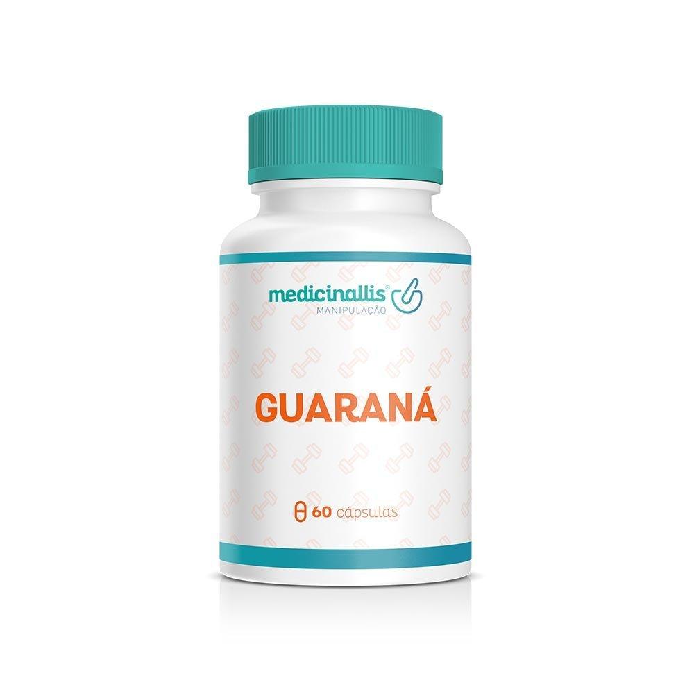Guaraná 500mg 60cáps