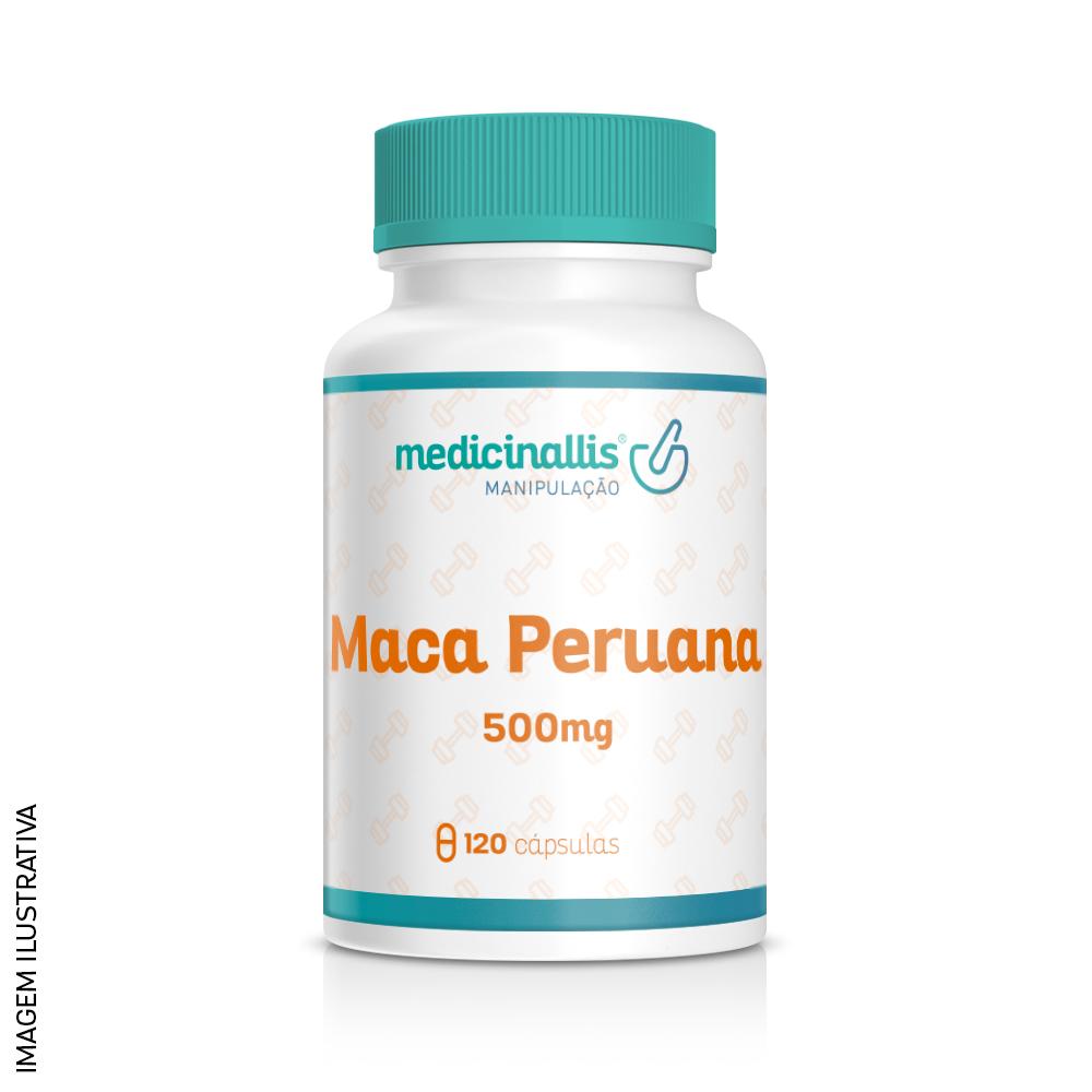 Maca Peruana 500 mg 120 capsulas